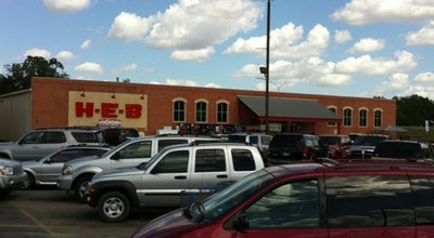 Photo of Supermarket H-E-B at 2105 Milam St, Columbus, TX 78934