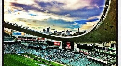 Photo of Stadium Allianz Stadium at Moore Park Rd., Moore Park, NS 2021, Australia