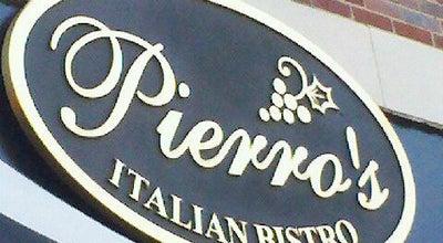 Photo of Italian Restaurant Pierro's Italian Bistro at 217 Hay St, Fayetteville, NC 28301, United States