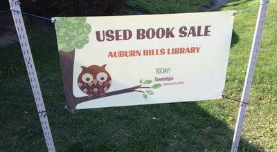 Photo of Library Auburn Hills Public Library at 3400 E Seyburn Dr, Auburn Hills, MI 48326, United States