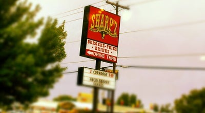 Photo of American Restaurant Sharp's Burger Ranch at 1227 21st St, Lewiston, ID 83501, United States