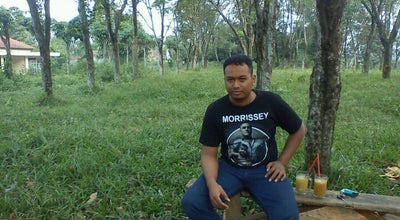 Photo of Trail Hutan karet rumpin at Rumpin, Indonesia