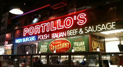 Photo of American Restaurant Portillo's Hot Dogs at 2810 Us Highway 34, Oswego, IL 60543, United States