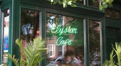 Photo of American Restaurant Elysian Cafe at 1001 Washington St, Hoboken, NJ 07030, United States