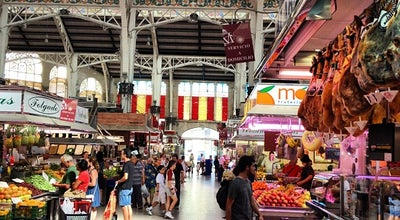 Photo of Farmers Market Mercat Central de Valencia at Olaca De La Ciutat De Bruges, Valencian Country 46001, Spain