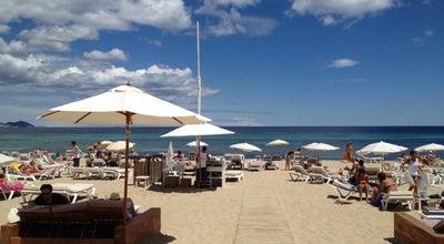 Photo of Seafood Restaurant El Chiringuito at Playa Es Cavallet, Ibiza 07830, Spain