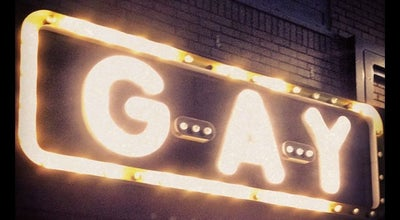 Photo of Restaurant G-A-Y Bar at 30 Old Compton Street, London W1D 4UR, United Kingdom