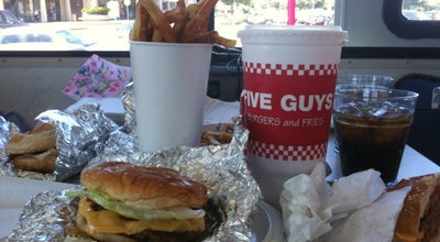 Photo of Burger Joint Five Guys Burgers & Fries at 5353 Almaden Expy, San Jose, CA 95118, United States
