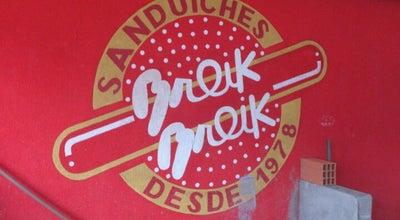 Photo of Burger Joint Tele Sanduiches Breik Breik at Av. Leovigildo Dias Vieira, 560, Ubatuba 11680-000, Brazil