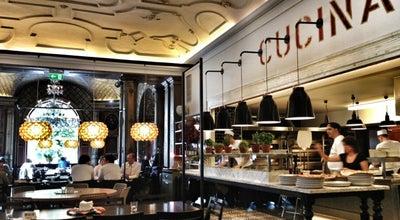 Photo of Italian Restaurant L'Osteria at Lenbachplatz 8, Munich 80333, Germany
