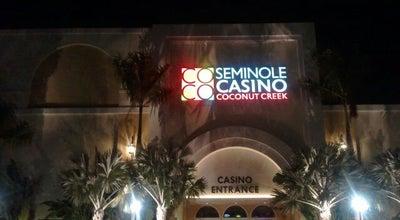 Photo of Casino Seminole Casino Coconut Creek at 5550 Nw 40th Street, Coconut Creek, FL 33073, United States