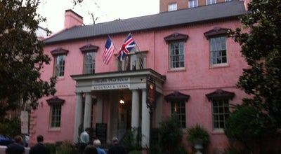 Photo of American Restaurant The Olde Pink House at 23 Abercorn Street, Savannah, GA 31401, United States