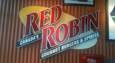 Photo of American Restaurant Red Robin Gourmet Burgers at 803 Thurlow St, Vancouver V6E 1W1, Canada