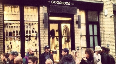 Photo of Boutique GoodHood at 151 Curtain Rd, Hackney EC2A 3QE, United Kingdom