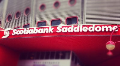 Photo of Stadium Scotiabank Saddledome at 1409 Olympic Way Se, Calgary, AB T2G 0B5, Canada