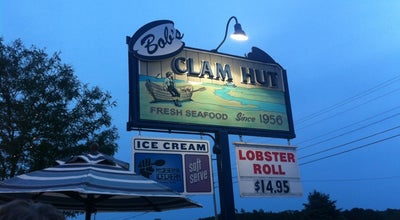 Photo of American Restaurant Bob's Clam Hut at 315 Us Route 1, Kittery, ME 03904, United States
