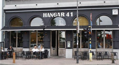 Photo of Italian Restaurant Hangar 41 at Sint-michielskaai 41, Antwerp 2000, Belgium