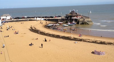 Photo of Beach Broadstairs Beach at Viking Bay, Broadstairs C T10, United Kingdom