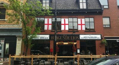 Photo of Bar Burgundy Lion at 2496 Rue Notre-dame Ouest, Montreal, QC H3J 1N5, Canada