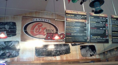 Photo of American Restaurant Cox Bros BBQ at 223 Mccall Rd, Manhattan, KS 66502, United States