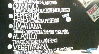 Photo of Italian Restaurant En Guay Si Pizza at Calle Rodriguez San Pedro 34, Madrid 28015, Spain