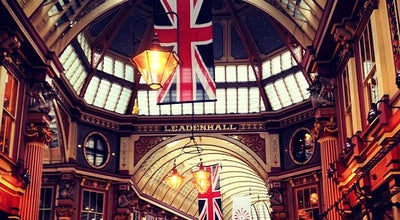 Photo of Tourist Attraction Leadenhall Market at Gracechurch Street, London EC3V 1LR, United Kingdom