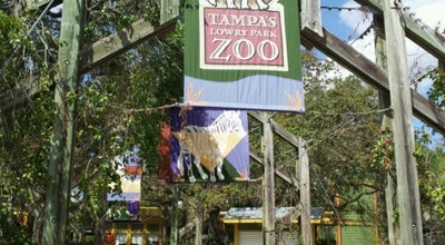 Photo of Zoo Tampa's Lowry Park Zoo at 1101 W. Sligh Avenue, Tampa, FL 33604, United States