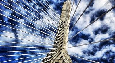 Photo of Bridge Leonard P. Zakim Bunker Hill Memorial Bridge at I-93, Boston, MA 02114, United States