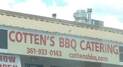 Photo of BBQ Joint Cotten's BBQ at 15013 Northwest Blvd, Corpus Christi, TX 78410, United States