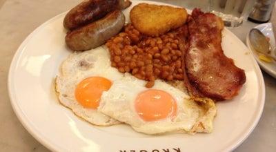 Photo of Cafe Kruger Cafe at Cabot Place West, London E14 4QT, United Kingdom
