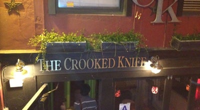 Photo of American Restaurant The Crooked Knife at 232 West 14th Street, New York, NY 10011, United States
