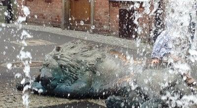 Photo of Monument / Landmark Four Quarters Fountain (Fontanna Czterech Kwartalow) at Grobli I, Gdansk, Poland