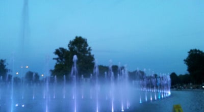 Photo of Monument / Landmark Multimedia Fountain Park at Skwer I Dyzwizji Pancernej, Warsaw 00-221, Poland