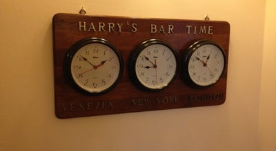 Photo of Historic Site Harry's Bar at Sestiere San Marco 1323, Venice 30124, Italy