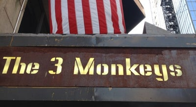Photo of American Restaurant The 3 Monkeys at 236 W 54th St, New York, NY 10019, United States