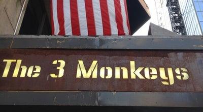 Photo of American Restaurant The 3 Monkeys at 236 W 54th St, New York, NY 10019, United States