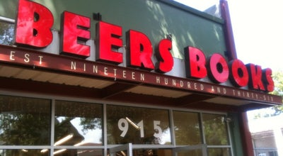 Photo of Bookstore Beer's Books at 915 S St, Sacramento, CA 95811, United States