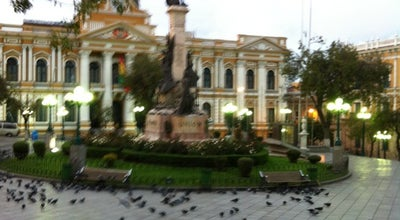 Photo of Monument / Landmark Plaza Murillo at Km. 0, La Paz, Bolivia