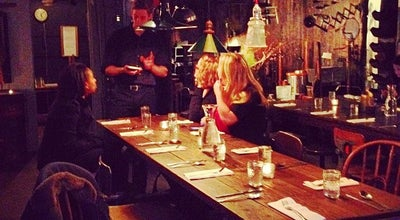 Photo of American Restaurant City Grit Culinary Salon at 38 Prince St, New York, NY 10012, United States