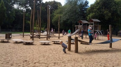 Photo of Playground Spielplatz Am Friedrichshain at Am Friedrichshain, Berlin 10249, Germany