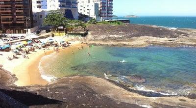 Photo of Beach Praia das Virtudes at R. Edísio Cime, Guarapari, Brazil