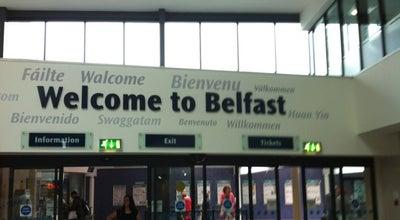 Photo of Train Station Belfast Central Railway Station (BFC) at 47 E Bridge St, Belfast BT1 3PB, United Kingdom