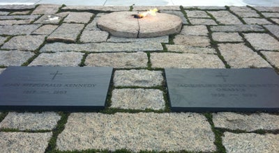 Photo of Monument / Landmark John F. Kennedy Grave Site at Arlington National Cemetery, Arlington, VA 22211, United States