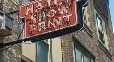 Photo of Tourist Attraction Hatch Show Print at 224 5th Avenue South, Nashville, TN 37203, United States