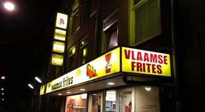 Photo of Fast Food Restaurant Vlaamse Frites at Lange Leidsedwarsstraat 7, Amsterdam, Netherlands