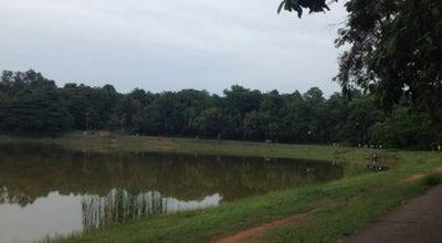 Photo of Lake สระพลาสติก at Khon Kaen University, Muang 40002, Thailand