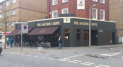 Photo of Bar The Anchor and Hope at 36 The Cut, London SE1 8LP, United Kingdom