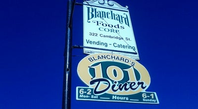 Photo of Diner Blanchard's 101 Diner at 322 Cambridge Street, Worcester, MA 01603, United States