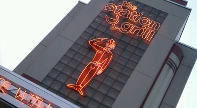 Photo of American Restaurant The Station Grill at 910 W Broadway Ave, Muskegon, MI 49441, United States