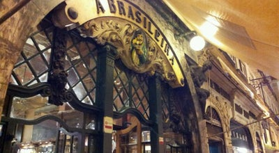 Photo of Cafe A Brasileira at R. Garrett, 120-122, Lisboa 1200-205, Portugal